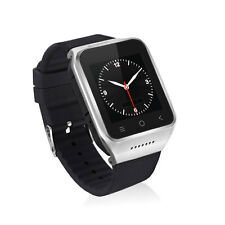 ZGPAX S8 Android 4.4 Bluetooth Smart Sport Tracker Watch Phone WiFi Silver