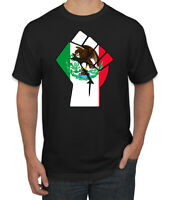 Mexican Pride Fist BLM Parody| Mens Graphic T-Shirt