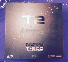 Hot Toys 1/6 T-800 Terminator 2 Judgement Day T 800 Battle Damaged Ver. DX13