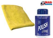 Belgom Premium Polish für alle lackiert Oberflächen 250 ml und Faser Stoff