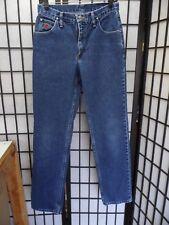 "Wrangler 20X Straight Leg Blue Jeans Size 9/10 Inseam 34"" FREE SHIPPING  W928"