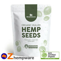 1kg HEMP SEEDS AUSTRALIAN CERTIFIED ORGANIC VEGAN SUPERFOOD OMEGA 3&6