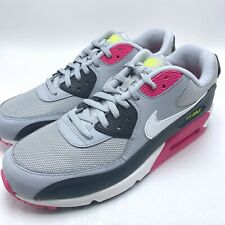 Nike Air Max 90 Essential Men's Running shoes Wolf Grey/White-Pink Aj1285-020