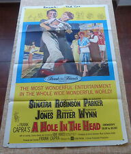 A Hole in the Head Movie Poster, Original, Folded, One Sheet, year 1959, U.S.A.