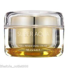 Missha Super Aqua Cell Renew Snail Cream 47ml Free Shipping