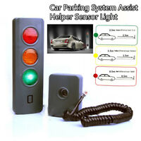 Home Garage Safe-Light Parking System Assist Distance Stop-Aid Guide Sensor Kit