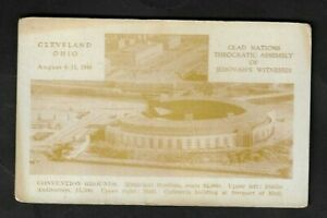 1946 Cleveland,OH - Glad Nations Theocratic Assembly of Jehovah's Witnesses PC