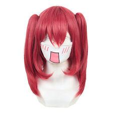 LoveLive Sunshine Aqours Kurosawa Ruby Cosplay Straight Clip Ponytail Red Wig