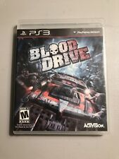 Blood Drive (PlayStation 3) Sony Ps3