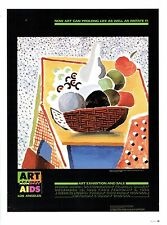 "DAVID HOCKNEY ""BOWL OF FRUIT"" POSTER PRINT 10""x14"" WALL ART POSTER PAGE"