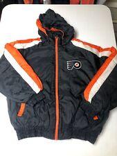 Vintage 90s Fans Gear Nhl Philadelphia Flyers Jacket Puffer Men's Sz Large