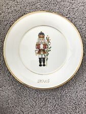 Lenox Annual Holiday Accent Plate 2015 - Nutcracker
