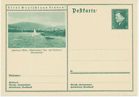 DT.REICH Friedrich Ebert 6 Pf 1932 Bildpost-GA ILMENAU in Thüringen