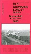 Map Of Burnopfield & The Leazes 1895