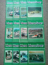 Vintage Motor Sport Magazines 1976 - Vol LI - Issues 1-12 - You Choose the Issue