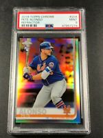 PETE ALONSO 2019 TOPPS CHROME #204 REFRACTOR ROOKIE RC PSA 9 NEW YORK METS