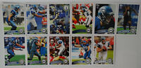 2011 Topps Seattle Seahawks Team Set of 11 Football Cards