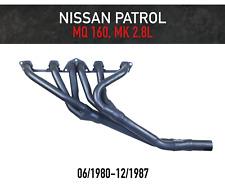 Headers / Extractors for Nissan Patrol MQ 160, MK (1980-1987) L28 Petrol 2.8L