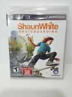 PS3 Shaun White Skateboarding Brand New/Sealed