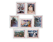 NIC8212 Contemporary painting 7 stamps