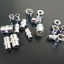 13pcs/Set 1/4 inch drive Metric Chrome Vanadium Steel 6.3mm Socket Free shipping