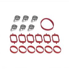 6x22mm for BMW E70 E71 Diesel Swirl Flap Blanks Repair Kit with Manifold Gaskets