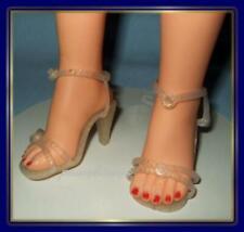 """3"""" x 1-1/4"""" Glitter Gold High Heel Doll SHOES for VT-22 VT-25 26"""" MISS REVLON"""