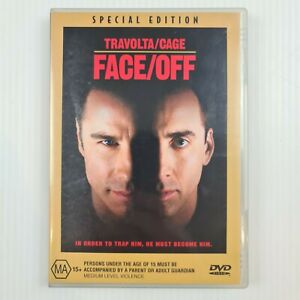 Face/Off DVD - Special Edition - John Travolta, Nicolas Cage - R4 - TRACKED POST