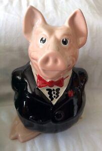"Nat West Wade ""Sir Nathanial"" Ceramic Moneybox.Original Stopper.G.C!"