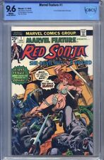 Marvel Feature #1 RED SONJA CBCS 9.6 1st Comic Devoted Entirely to Sonja not CGC