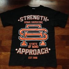 STRENGTH APPROACH T-SHIRT SMALL MADBALL TERROR SICK OF IT ALL AGNOSTIC FRONT