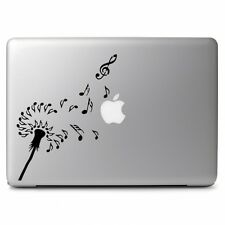 Dandelions Note Music Fly Macbook Air Pro 11 13 15 17 Laptop Vinyl Decal Sticker