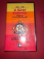 1962-1986  A SILVER ODYSSEY  25 years of Houston Astros baseball  VHS VIDEOTAPE