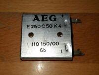 Gleichrichter aus Telefunken Musikus 105V (Plattenspieler 60er Jahre)