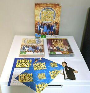 High School Musical DVD Box Set 2009 Reg 4 plus 2 x CDs - rare