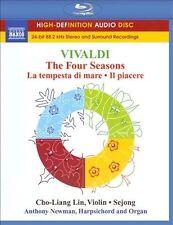 Vivaldi: The Four Seasons PURE AUDIO BLU RAY 5.1 DTS & STEREO, CHO-LIANG LIN