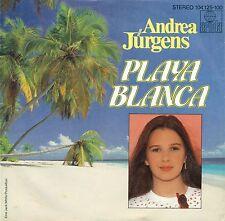 """ANDREA JÜRGENS - PLAYA BLANCA / ICH BIN HEUTE MAL DISCJOCKEY 7"""" SINGLE (B428)"""