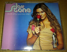 JOSS STONE Don't Cha Wanna w/ UNRELEASED TRK Europe  CD single SEALED USA seller