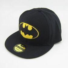 New  Adjustable Snapback Batman Flat Bill baseball Hat cap Black Hiphop