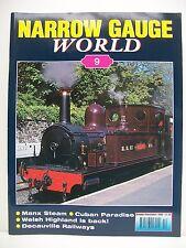 Narrow Guage World Magazine. Issue no. 9. Volume 1, No. 9. October/Novem. 2000.
