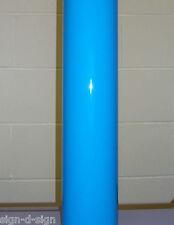 Brillo Wedgwood Azul Auto Adhesivo Vinilo Pegajoso Espalda Plástico 610mm X 1mtr