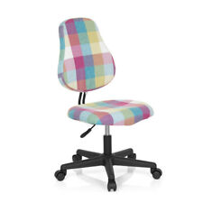 children's Desk chair / Kids Chair KIDDY SQUARE Fabric Plaid hjh OFFICE