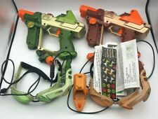 Tiger Hasbro Lazer Tag Team Ops Deluxe 2 Player System w/ Extras & Directions