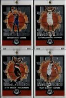 2019-20 Panini Mosiac Jam Masters Lot (4) Davis Richardson Drexler McGrady GEM