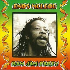 ENOS MCLEOD Ram Jam Party CD Reggae MIGHTY DIAMONDS Sly Dunbar ROOTS RADICS BAND