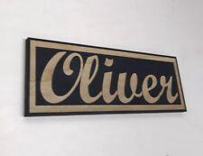Personalised Bedroom Name Door Sign / Plaque Babies Boy Housewarming Girl Gift