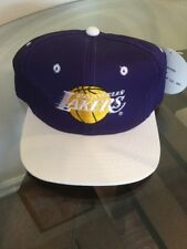 NWT Los Angeles Laker Purple White Youth Snapback Hat Cap New With Tags!!!