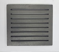 Ash Rust 19 x 22 cm Cast Iron Grate Grating Furnace Chimney to spartherm Stoves