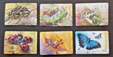 AUSTRALIA USED 2003 INSECTS 50c SA 6 VALUE VF COMPLETE SET SC# 2193 - 2198