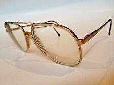 Luxottica Stuart Prescription Eyeglasses Klixx Gold 56-17